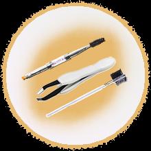 инструменты для дизайна и клонирование бровей