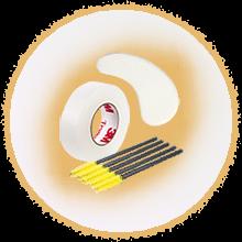 расходники для наращивание и ламинирование ресниц и бровей
